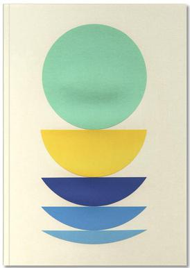 Five Circles Notizbuch