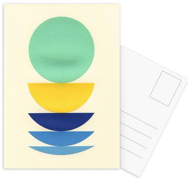 Five Circles Postkortsæt