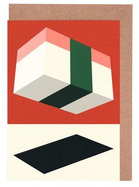 Flying Nigiri -Grußkarten-Set