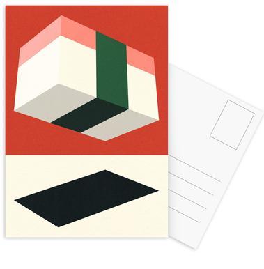 Flying Nigiri Postkortsæt