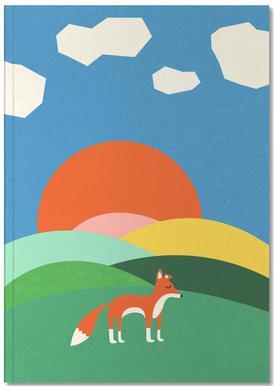 Fox and Field Notesbog