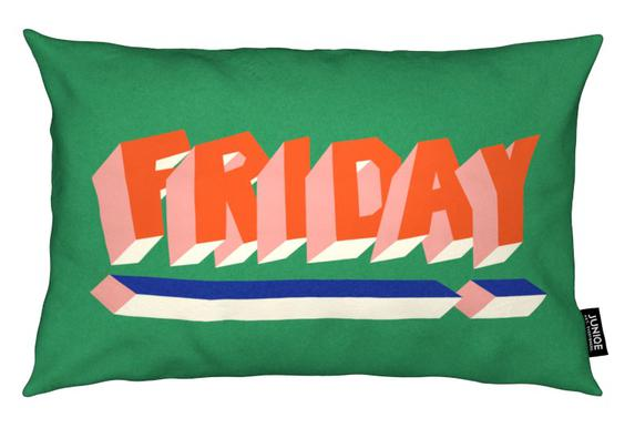 FRIDAY! Cushion