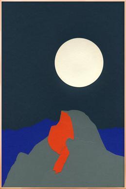 Half Dome Poster im Alurahmen