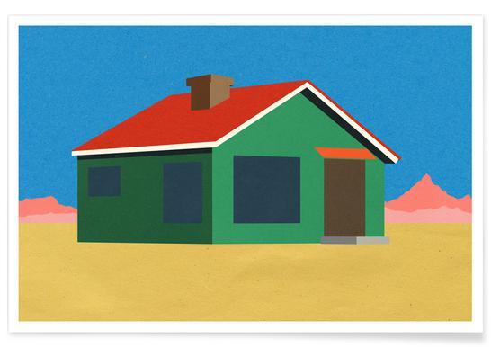 Joshua Tree House Plakat