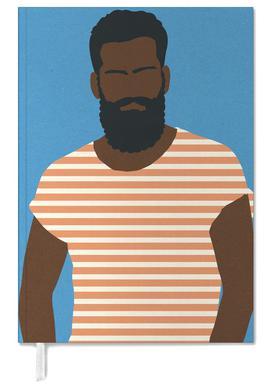 Man with Striped Shirt Terminplaner