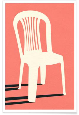 Monobloc Plastic Chair No I Plakat