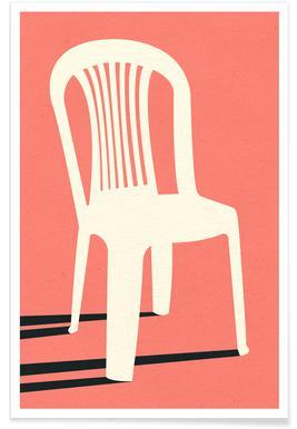 Monobloc Plastic Chair No I poster