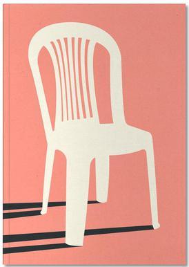 Monobloc Plastic Chair No I Notesbog