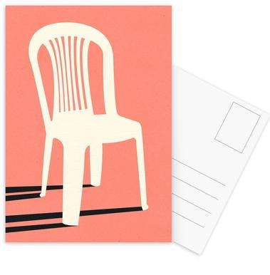 Monobloc Plastic Chair No I Postkortsæt