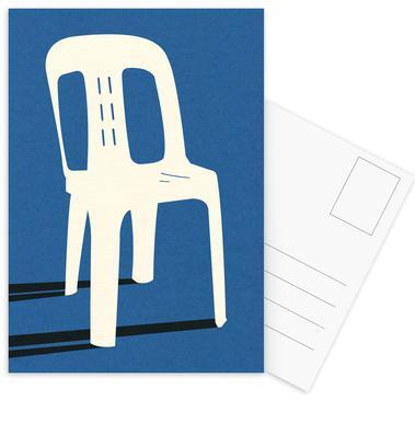 Monobloc Plastic Chair No II Postcard Set
