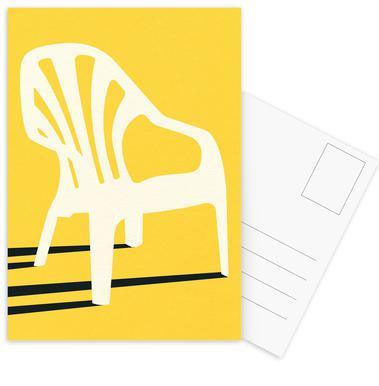 Monobloc Plastic Chair No VI Postcard Set