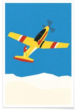 Pilatus PC-7 Solo Display Poster