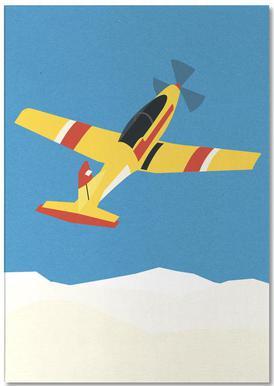 Pilatus PC-7 Solo Display Notizblock