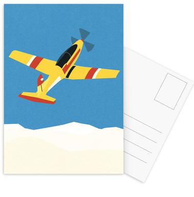 Pilatus PC-7 Solo Display Postkortsæt