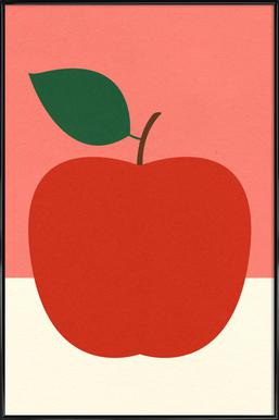 Red Apple Framed Poster