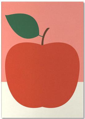 Red Apple Notizblock