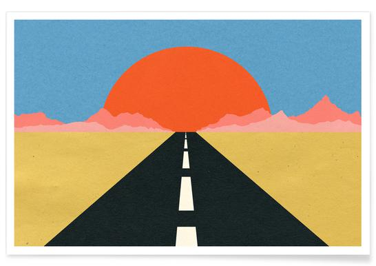 Road to Sun Poster