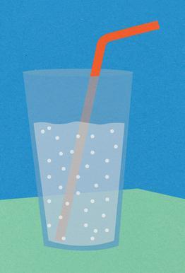 Sparkling Lemonade Alu-Dibond Druck