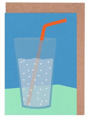 Sparkling Lemonade Lykønskningskort sæt