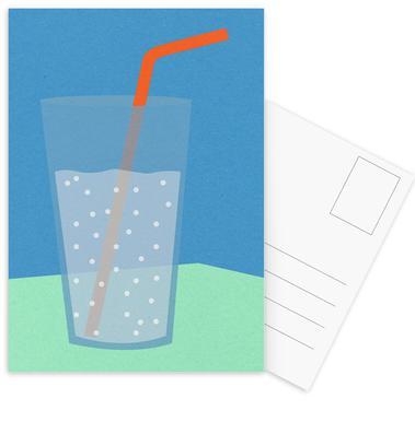 Sparkling Lemonade Postkartenset