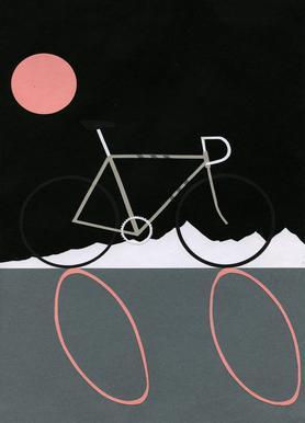 Tour de Noir Canvas Print