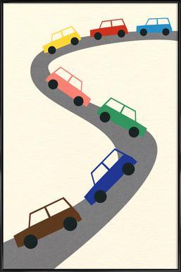 Traffic Framed Poster