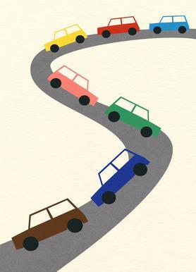 Traffic Leinwandbild