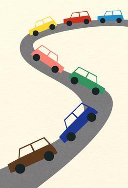 Traffic Alu-Dibond Druck
