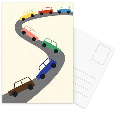 Traffic Postcard Set