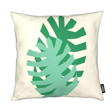 Two Palm Leaves Kissen