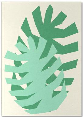 Two Palm Leaves Carnet de note