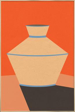 Tonkrug -Poster im Alurahmen