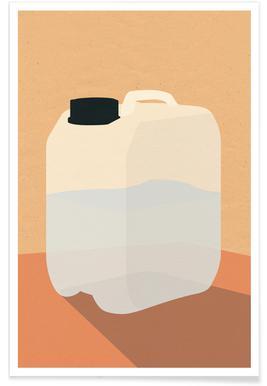 Plastikkanister -Poster
