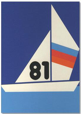Sailing Regatta 81 Notepad
