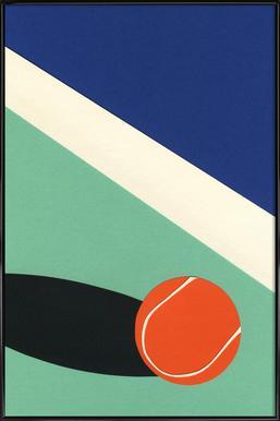 Arizona Tennis Club II Poster in Standard Frame