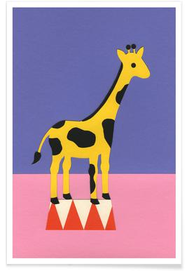 Giraffe Aloopi affiche