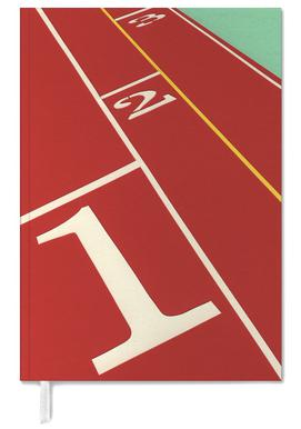 Running Track 123 Personal Planner