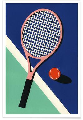 Malibu Tennis Club Poster