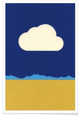 Cloud Over The Desert Poster