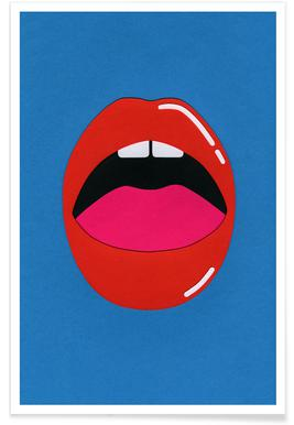 Red Lips affiche