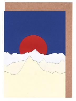 French Alps Set de cartes de vœux
