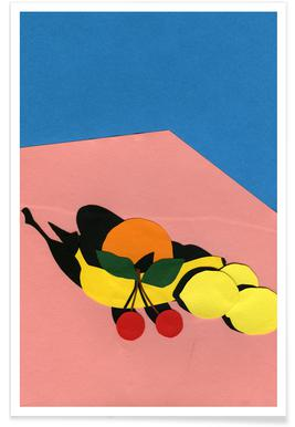 Fruits On The Table Poster