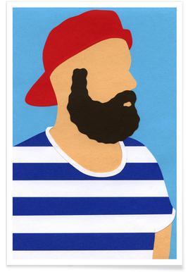 Rosi Feist Selfportrait Poster