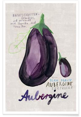 Aubergine affiche