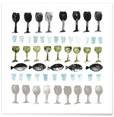 Fish and Wine 2 Poster