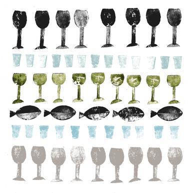 Fish and Wine 2 Acrylglasbild