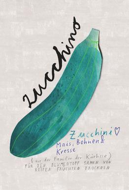 Zucchini Acrylglasbild
