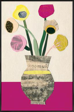 Ranunkeln & Co 2 Poster im Kunststoffrahmen