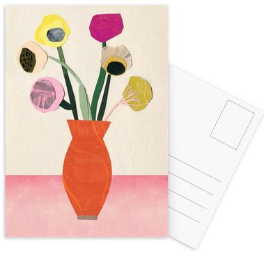 Ranunkeln & Co. 5 -Postkartenset