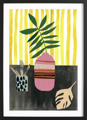 Vasen & Co. 2 Poster im Holzrahmen